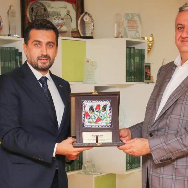 MOBİSAD Başkanı Mustafa Kemal Turnacı, Doğa Koleji Yönetim Kurulu Başkanı Serhat Özeren ile buluştu